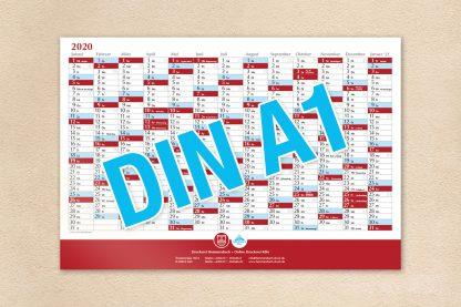 Wandkalender DIN A1