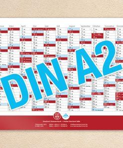 Wandkalender DIN A2